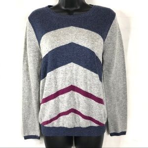 Pixley Pheobe Chevron Gray Blue Sweeter M